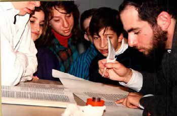 Youth program about the Torah scroll