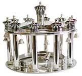 Bier sterling silver Torah crown