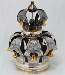 Netafim sterling silver Torah crown