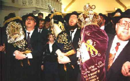 Completion ceremony of a Torah writing campaign, sefer Torah project